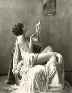 20s draping clothing on chair